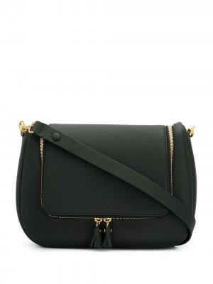 Мягкая сумка сэтчел Vere Anya Hindmarch. Цвет: черный