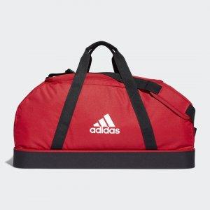 Спортивная сумка Tiro Primegreen Bottom Large Performance adidas. Цвет: красный