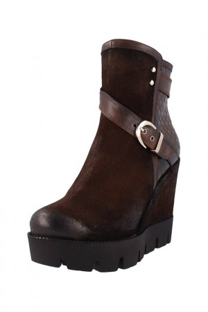 Ankle boots ROBERTO BOTELLA. Цвет: brown