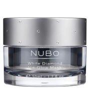 Кислородная маска для восстановления сияния кожи лица White Diamond Ice Glow Mask 50 мл NuBo