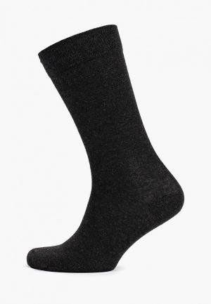 Носки 3 пары DIM. Цвет: серый