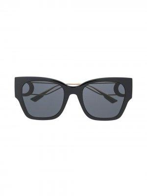 Солнцезащитные очки Montaigne в квадратной оправе Dior Eyewear. Цвет: золотистый