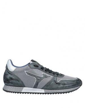Низкие кеды и кроссовки MIZUNO. Цвет: стальной серый