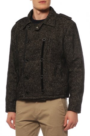 Куртка Costume National. Цвет: коричневый