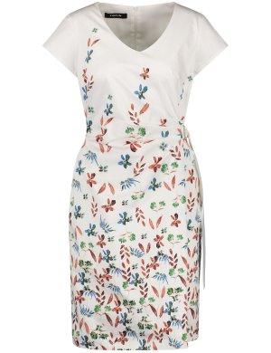 Платье из джерси TAIFUN Gerry Weber. Цвет: offwhite patterned