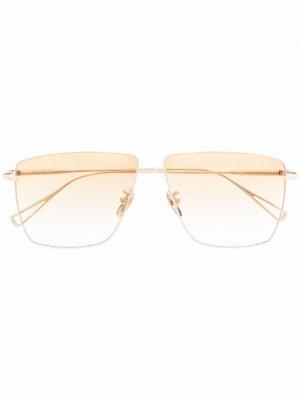 Солнцезащитные очки-авиаторы Dirt Parade EQUE.M. Цвет: золотистый
