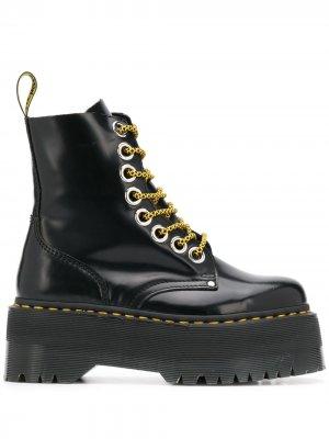 Ботинки Jadon Max на платформе Dr. Martens. Цвет: черный