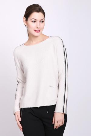 Пуловер Monari. Цвет: бежевый