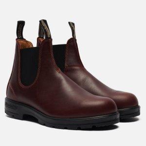 Ботинки 1440 Leather Lined Blundstone. Цвет: бордовый