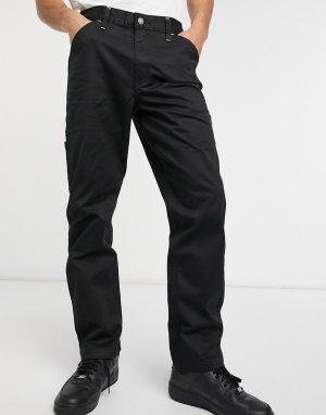 Суженные книзу брюки в рабочем стиле метеоритного черного цвета Levis Youth-Черный цвет Levi's