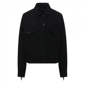 Джинсовая куртка J Brand. Цвет: чёрный