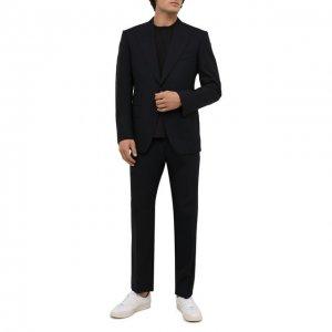 Шерстяной костюм Tom Ford. Цвет: синий