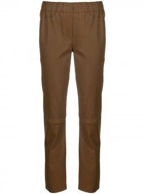 Спортивные брюки Luisa Cerano. Цвет: коричневый