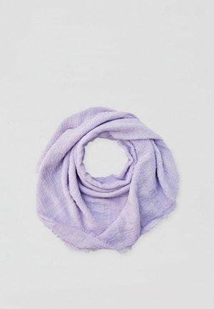 Платок Pull&Bear. Цвет: фиолетовый