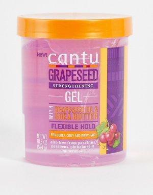 Гель для укладки волос с маслом виноградных косточек , 524 г-Бесцветный Cantu