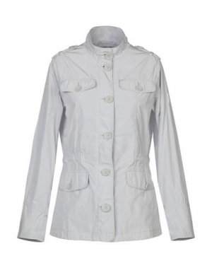 Куртка REFRIGUE. Цвет: светло-серый