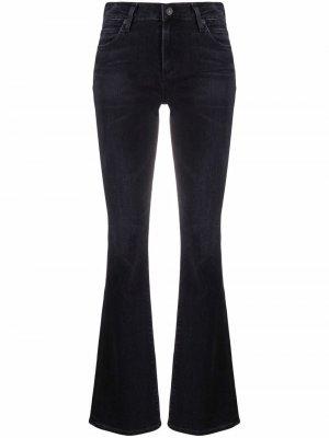 Расклешенные джинсы Georgia Citizens of Humanity. Цвет: черный