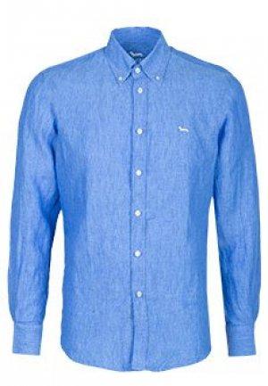 Рубашка HARMONT&BLAINE. Цвет: голубой