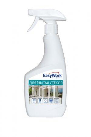 Средство д/мытья стекол 500 мл EasyWork. Цвет: белый, синий, голубой