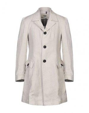 Легкое пальто HERMAN. Цвет: бежевый