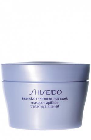 Восстанавливающая маска для ухода за волосами Intensive Treatment Hair Care Shiseido. Цвет: бесцветный