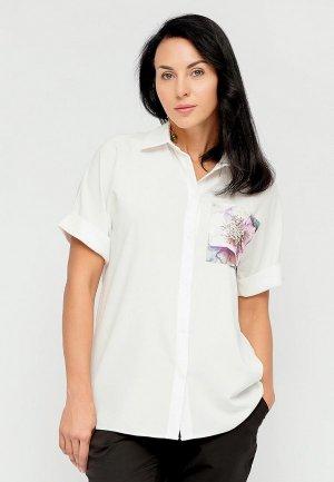 Блуза Bellart. Цвет: белый