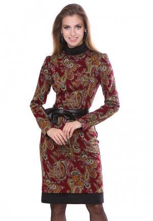 Платье Olivegrey STARBERY. Цвет: бордовый