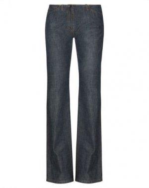 Джинсовые брюки PLEIN SUD. Цвет: синий