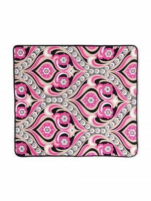 Одеяло с принтом Emilio Pucci Junior. Цвет: нейтральные цвета