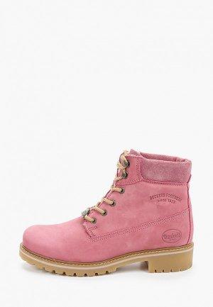 Ботинки Dockers by Gerli. Цвет: розовый