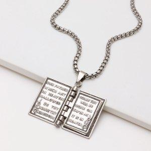 Мужское ожерелье SHEIN. Цвет: серебряные