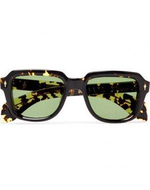 Солнечные очки JACQUES MARIE MAGE. Цвет: черный