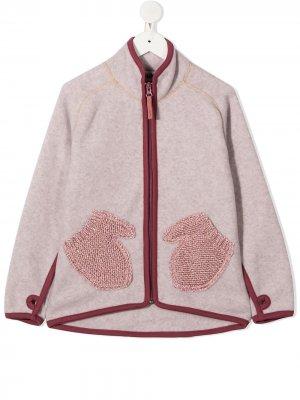 Жакет Ushi с карманами Molo. Цвет: розовый