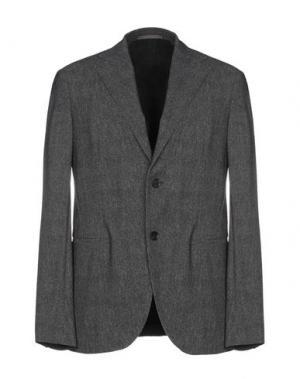 Пиджак TRAIANO. Цвет: стальной серый