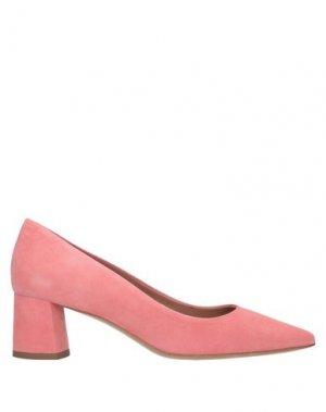 Туфли DEIMILLE. Цвет: лососево-розовый