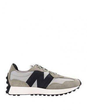 Низкие кеды и кроссовки NEW BALANCE. Цвет: зеленый-милитари