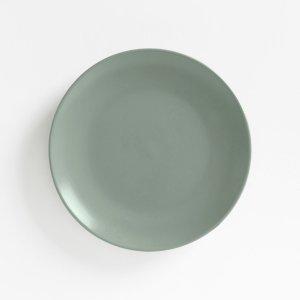 Комплект из 4 десертных тарелок LaRedoute. Цвет: синий