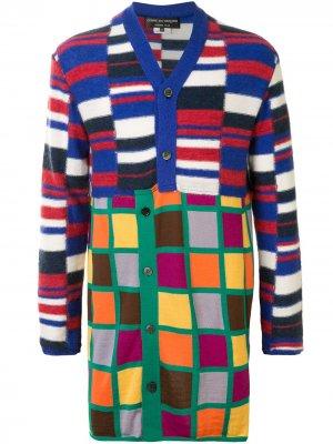 Кардиган с геометричным принтом Comme Des Garçons Homme Plus. Цвет: разноцветный