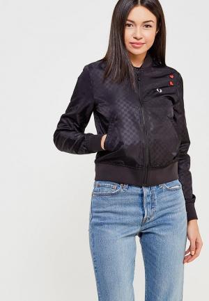 Куртка Fred Perry. Цвет: черный