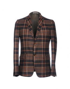 Пиджак JULIAN KEEN. Цвет: коричневый