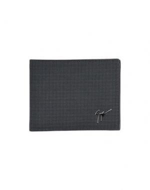 Бумажник GIUSEPPE ZANOTTI. Цвет: черный