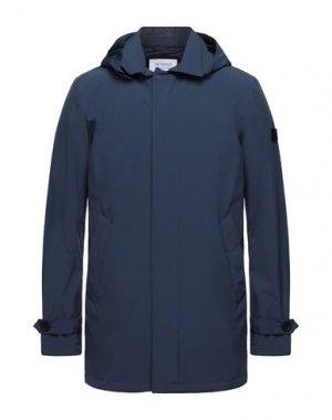 Легкое пальто HETREGO'. Цвет: грифельно-синий