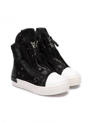 Ботинки по щиколотку Cinzia Araia Kids. Цвет: черный