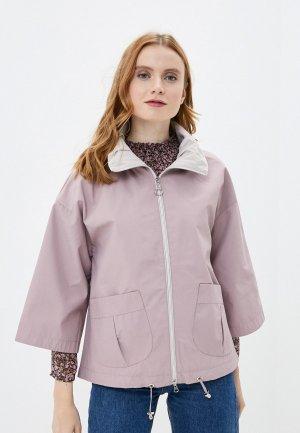Куртка Снежная Королева. Цвет: розовый