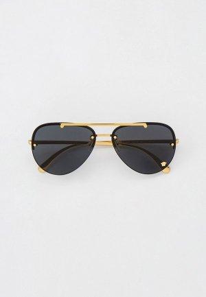 Очки солнцезащитные Versace VE2231 100287. Цвет: золотой