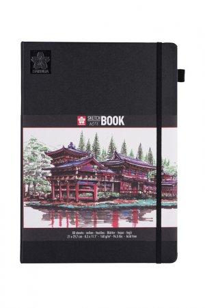 Блокнот для зарисовок 80 лист SAKURA. Цвет: черный