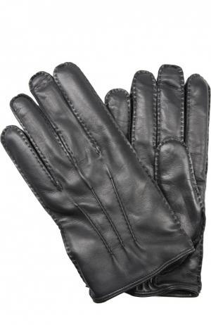 Перчатки Brioni. Цвет: чёрный