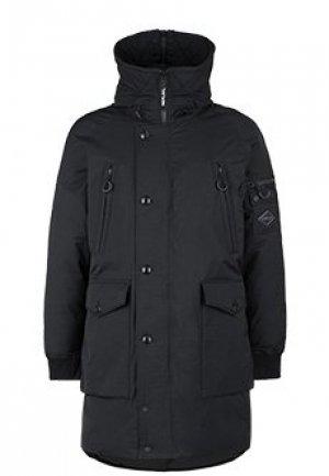 Пальто REPLAY. Цвет: черный