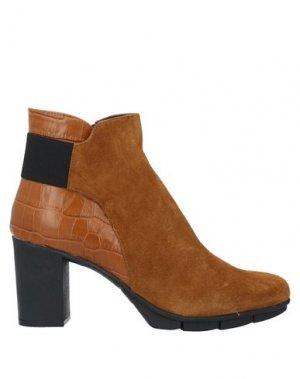 Полусапоги и высокие ботинки THE FLEXX. Цвет: желто-коричневый