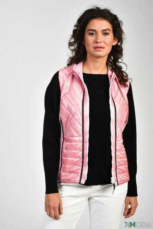 Жилет SE Stenau. Цвет: розовый